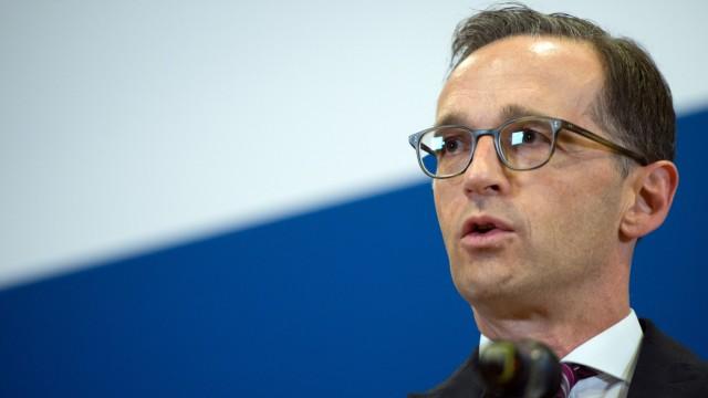 Bundesjustizminister Maas trifft Facebook-Delegation