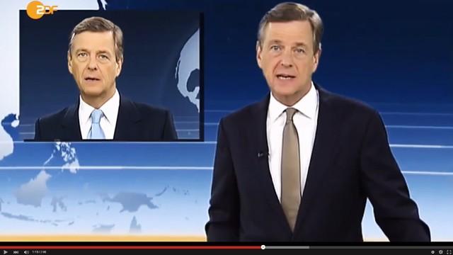 Claus Kleber Satirevideo mit Claus Kleber