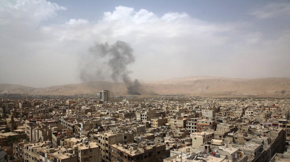 Krieg in Syrien Bürgerkrieg in Syrien