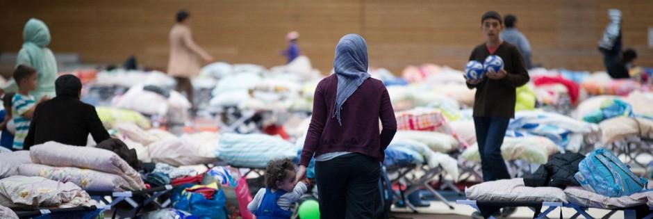 Flüchtlinge in Berlin