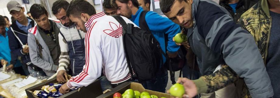 Flüchtlinge Gesetzentwurf zu Flüchtlingskrise