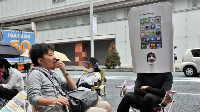 Gebrauchte Smartphones iPhone-Verkauf