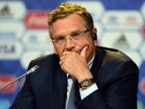 FILE - FIFA Secretary-General Jerome Valcke Suspended