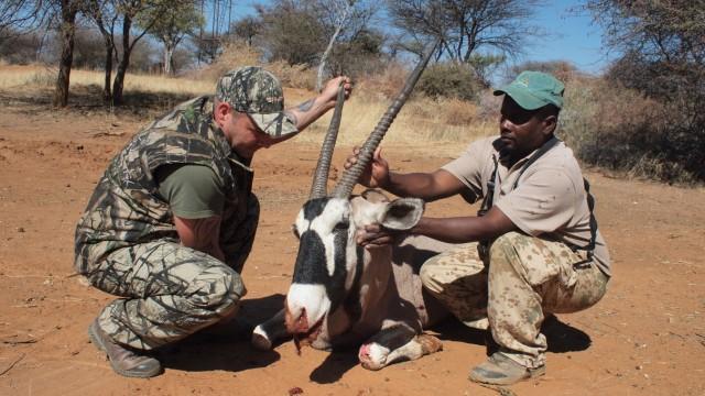 Tierschutz Trophäenjagd in Namibia