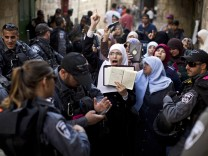 Tension in the Old City of Jerusalem