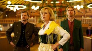 """Tatort """"Die letzte Wiesn""""; Daniel Christensen, Gisela Schneeberger und Leo Reisinger (von links)"""