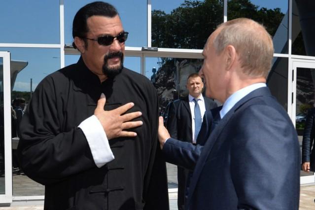 Vladimir Putin in Vladivostok