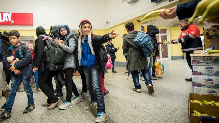 Flüchtlingsankunft in Celle