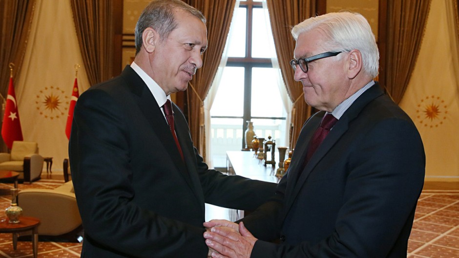 German Foreign Minister Frank-Walter Steinmeier visits Turkey