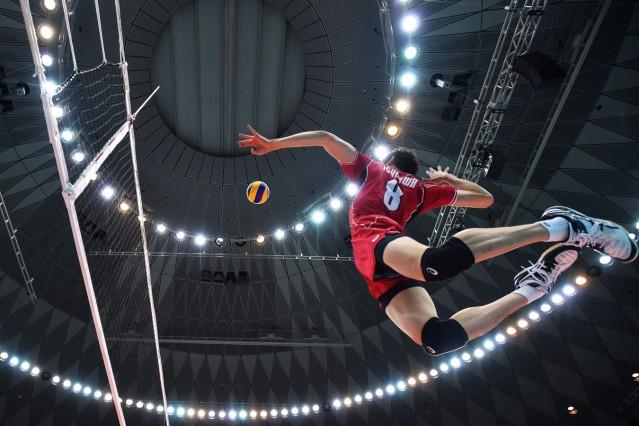 ***BESTPIX*** Japan v Iran - FIVB Men's Volleyball World Cup Japan 2015