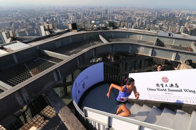 Vertical run world circuit in Beijing