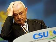 Ex-Ministerpräsident Beckstein sagt, die CSU habe sich an Ergebnisse unter 50 Prozent fast schon gewöhnt
