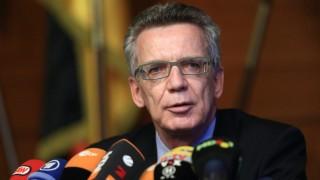 Bundesinnenminister de Maizière zu Flüchtlingsfragen