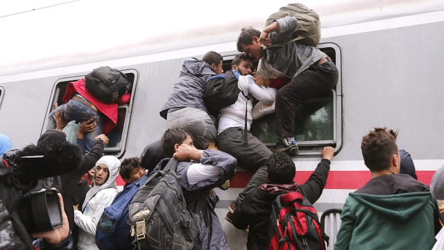 Migrants in Croatia