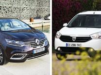 Dacia Lodgy und Renault Espace