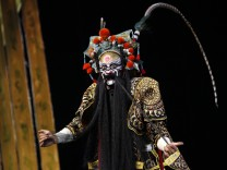 China Peking Opera performance for Children's Day