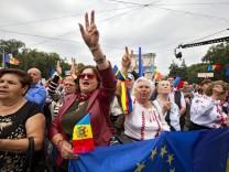Protest in Chisinau
