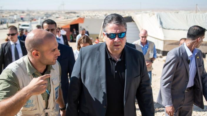 Wirtschaftsminister Gabriel in Jordanien