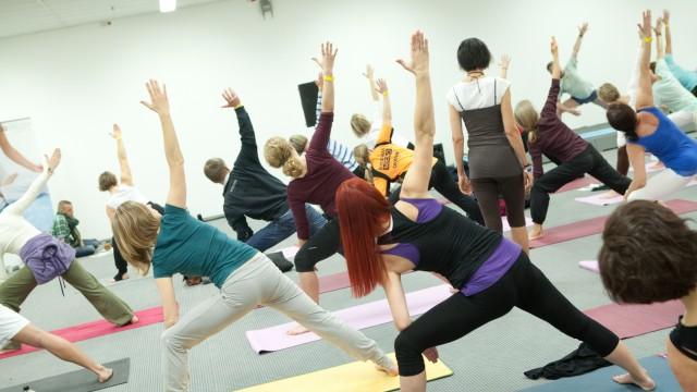 Yoga Expo in München, 2013