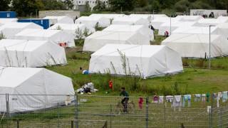 Erstaufnahmestelle für Flüchtlinge in Hamburg Wilhelmsburg