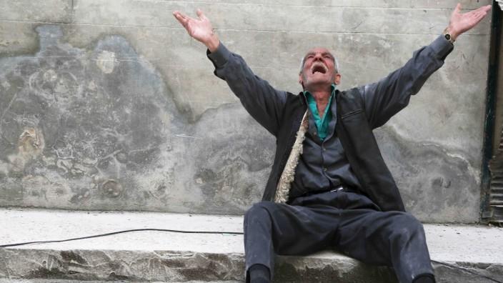 Assad Syrien Fassbombe Bürgerkrieg Krieg