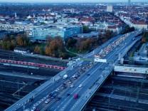 Feinstaubbelastung Donnersberger Brücke (Landshuter Allee)