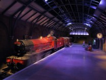 Photocall And press Launch Of Hogwarts Express And Platform 9 3/4; Harry Potter