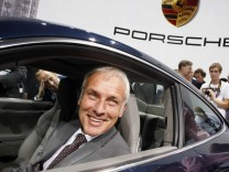 File photo of Mueller, CEO of Porsche, presenting the new Porsche Carrera 911 S at the International Motor Show (IAA) in Frankfurt