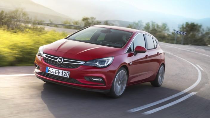 Der neue Opel Astra.