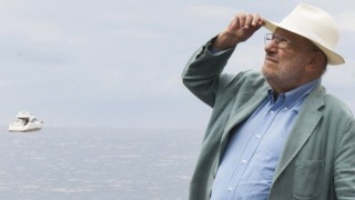 Portrait of Umberto Eco september 2015 PUBLICATIONxINxGERxSUIxAUTxHUNxONLY Copyright LeonardoxC