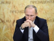 Russian President Vladimir Putin visits Rostov region