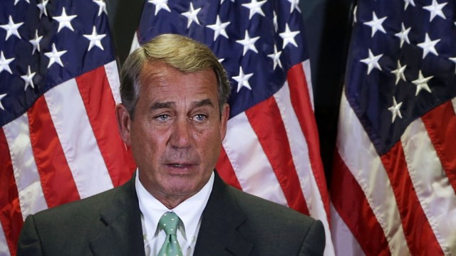 Boehner, House Leaders Speak To Press After GOP House Conference Meeting