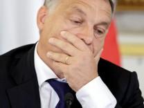 Ungarns Premier Orban in Österreich