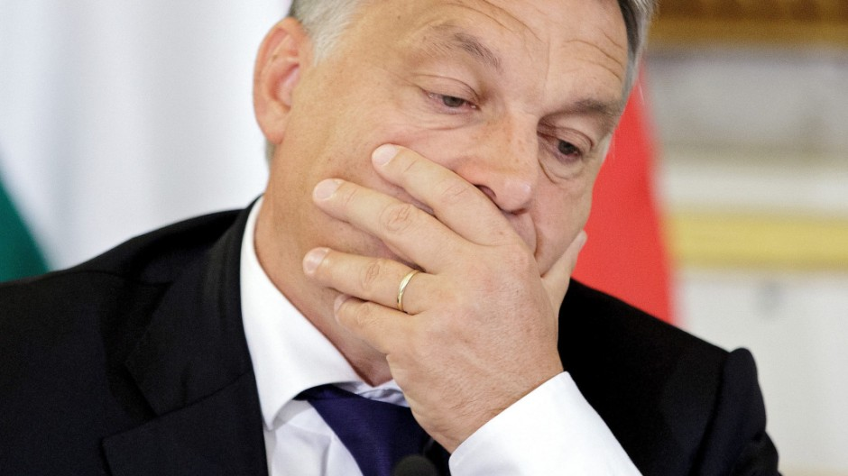 Hungarian PM Orban in Austria