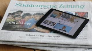 Zeitungen Journalismus im Internet-Zeitalter