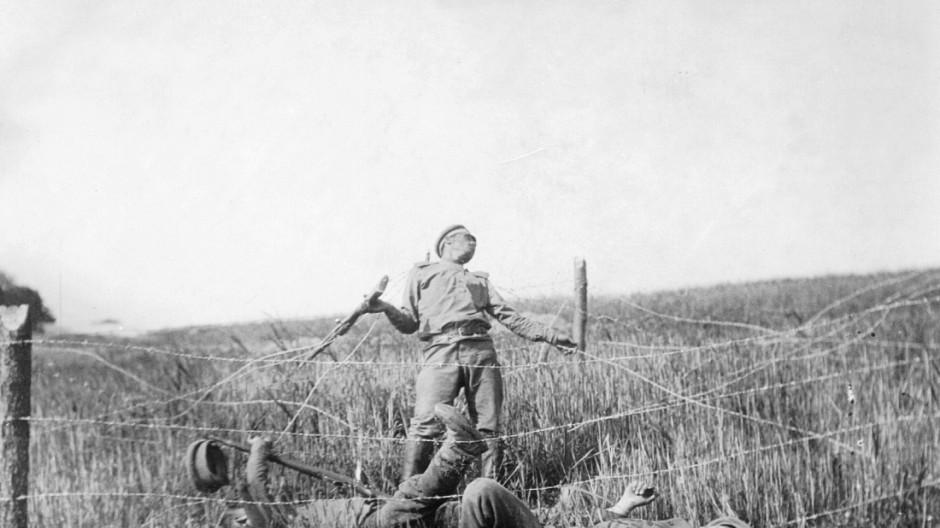 Tote russische Soldaten im 1. Weltkrieg, 1915