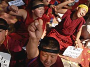 Protest in Tibet