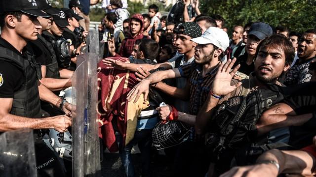 Türkei in der Flüchtlingskrise