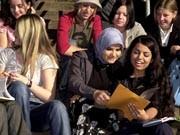Türkische Schüler; ddp