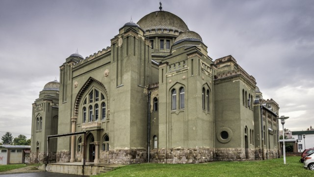 Great Synagogue, Gyongyos, Heves County, Hungary