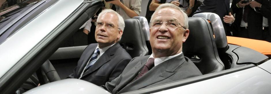 Martin Winterkorn und Ulrich Hackenberg