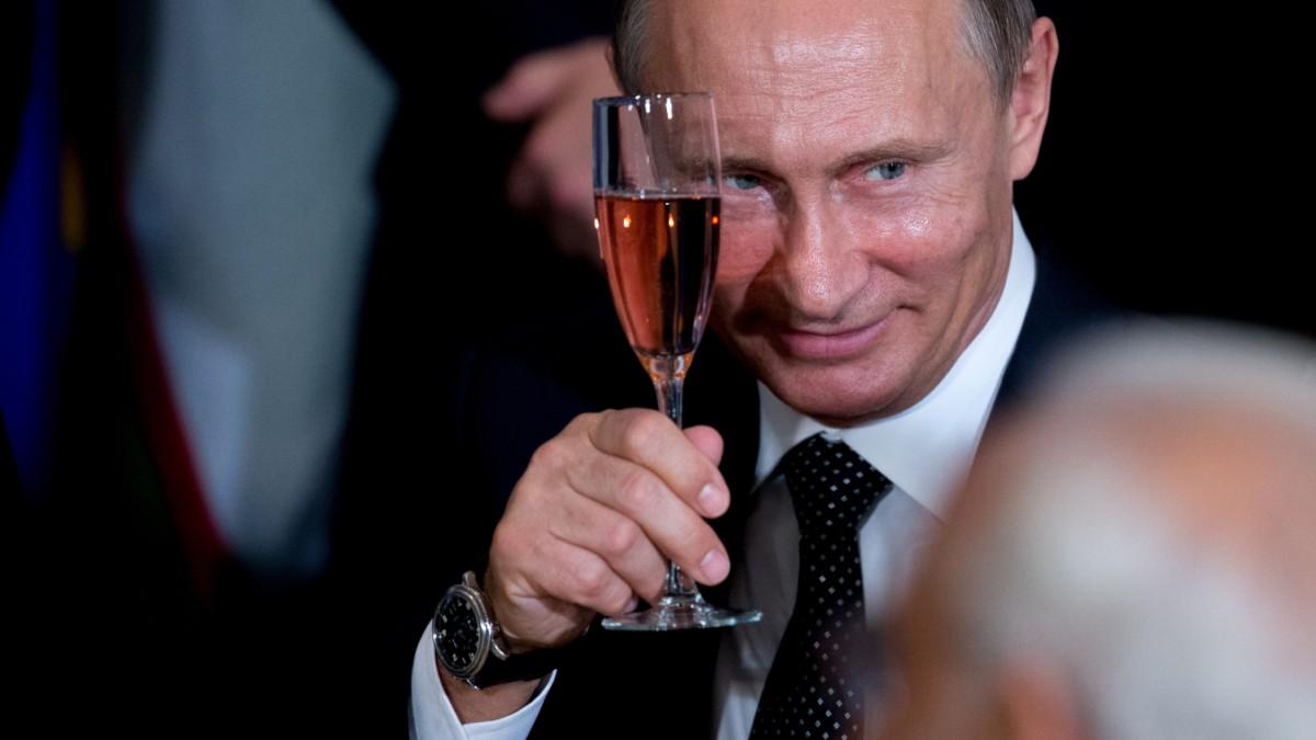 Putins Quittung