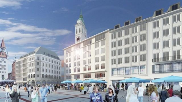 Hugendubel Münchner Marienplatz
