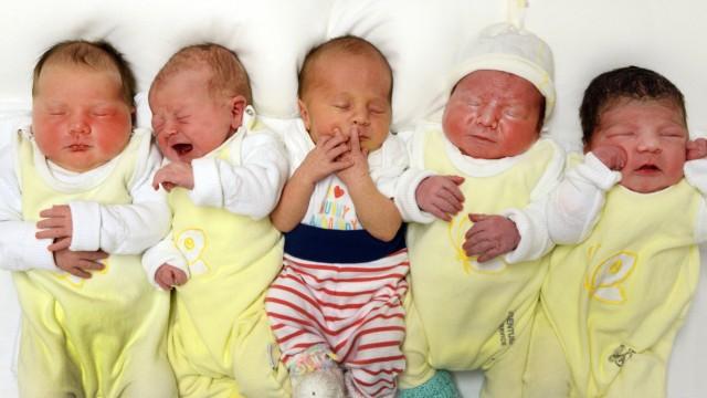 Babys in Sachsen
