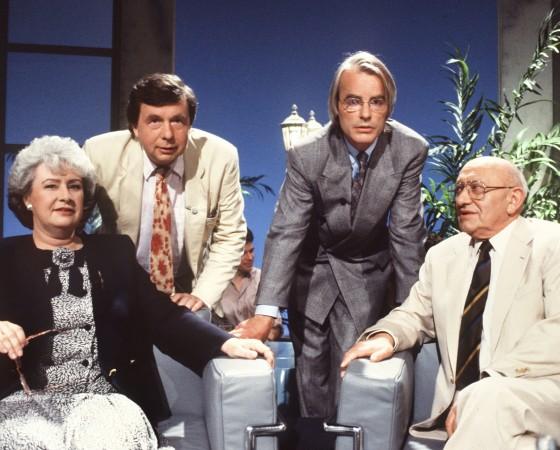 ZDF-Literatursendung 'Das literarische Quartett'