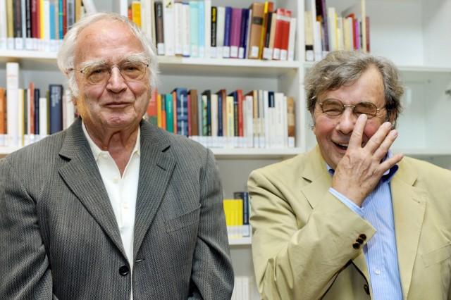 Walser und Karasek präsentieren Literatur-Edition