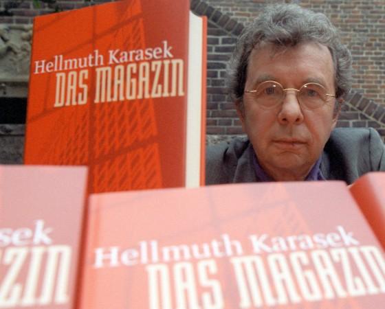 Hellmuth Karasek stellt Buch vor