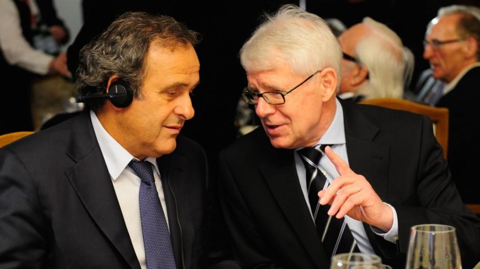 DFL Ligapräsident Rauball zur Fifa