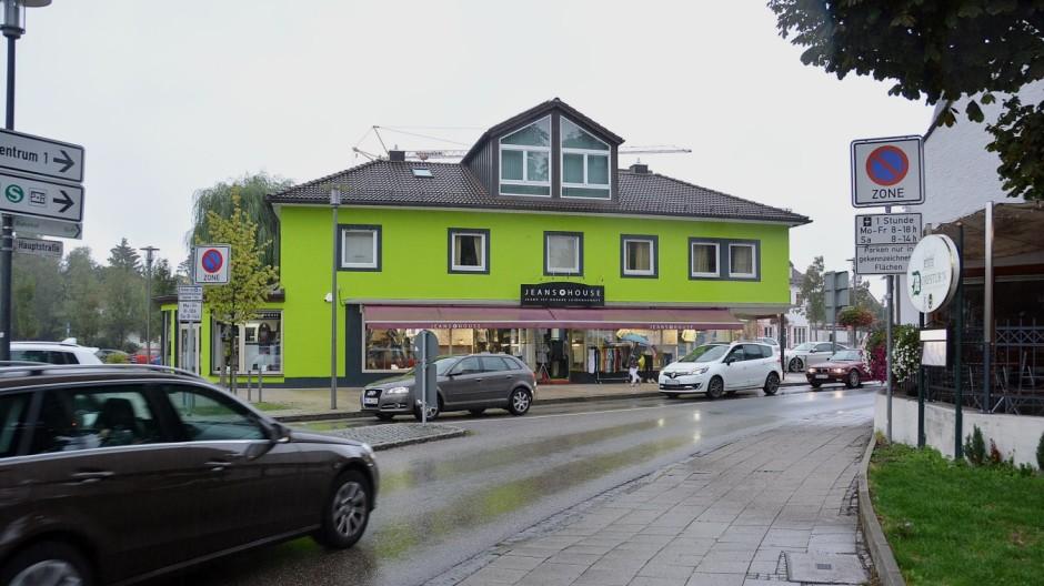 Fassadenfarbe grün  Olching - Fassade ist Stadträten nicht grün - Fürstenfeldbruck ...