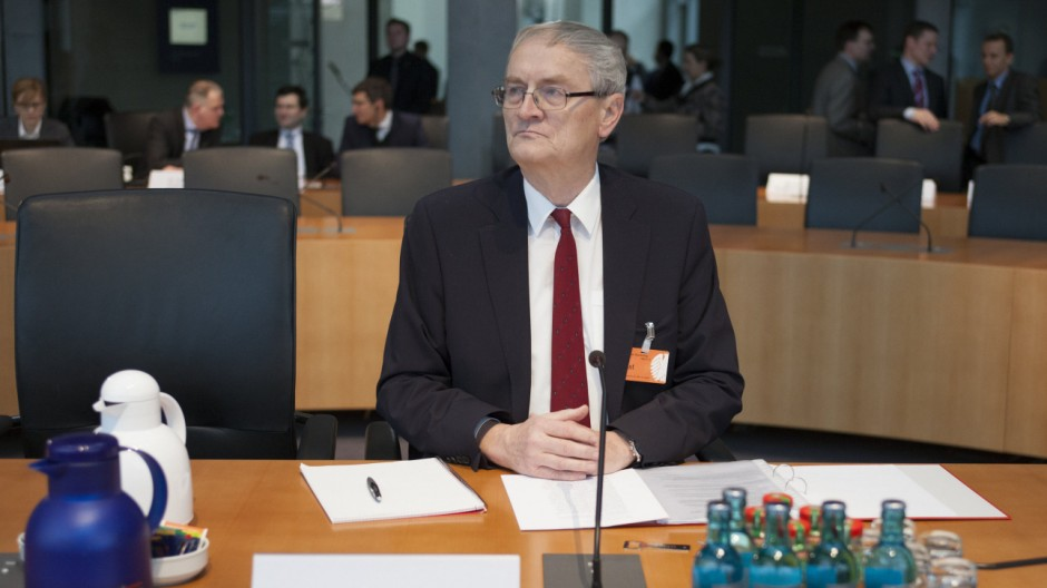 Ex-BND Präsident Hanning vor Untersuchungsausschuss